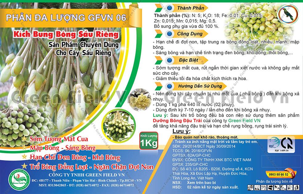 GF 06 - Kích Bung Bông Sầu Riêng