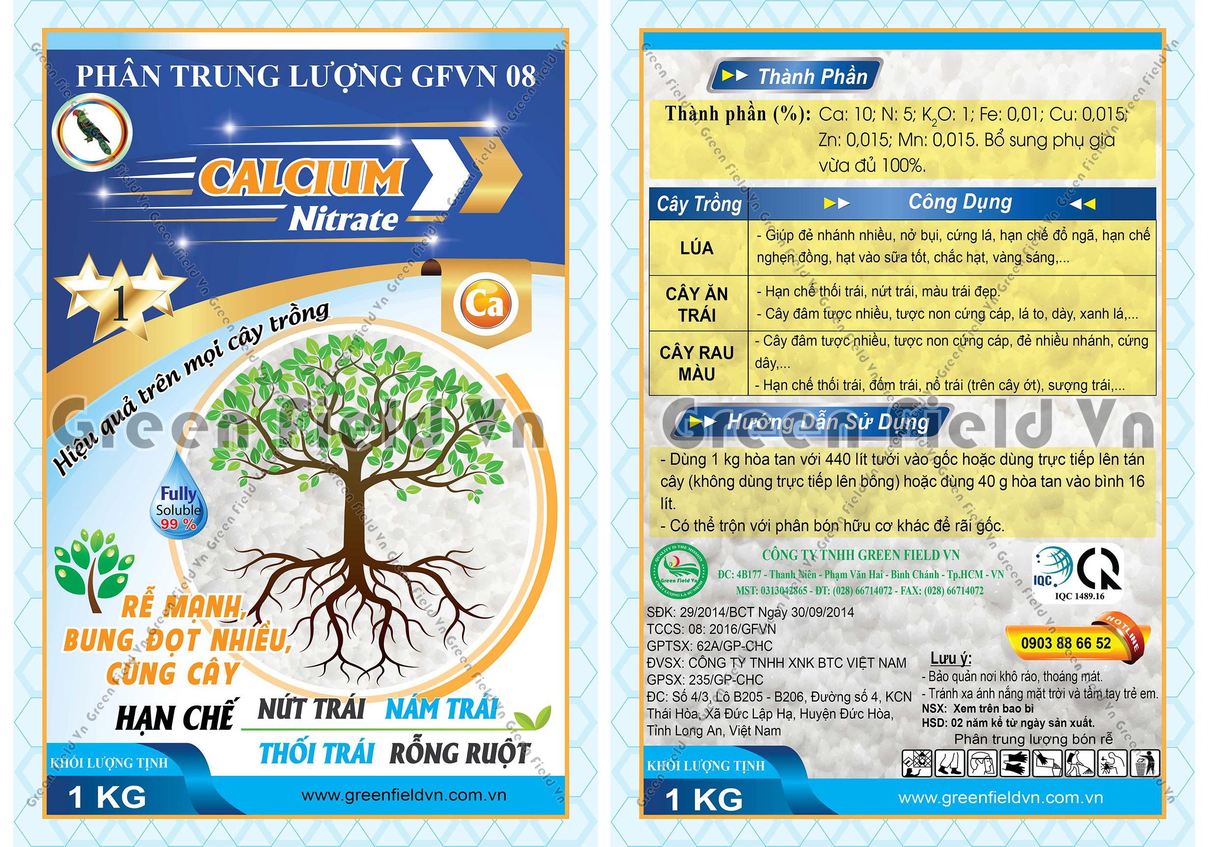 GF 09 - CALCIUM NITRATE